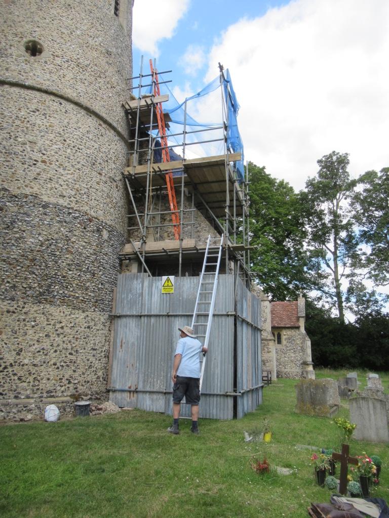 St Mary's Church Bartlow Repair