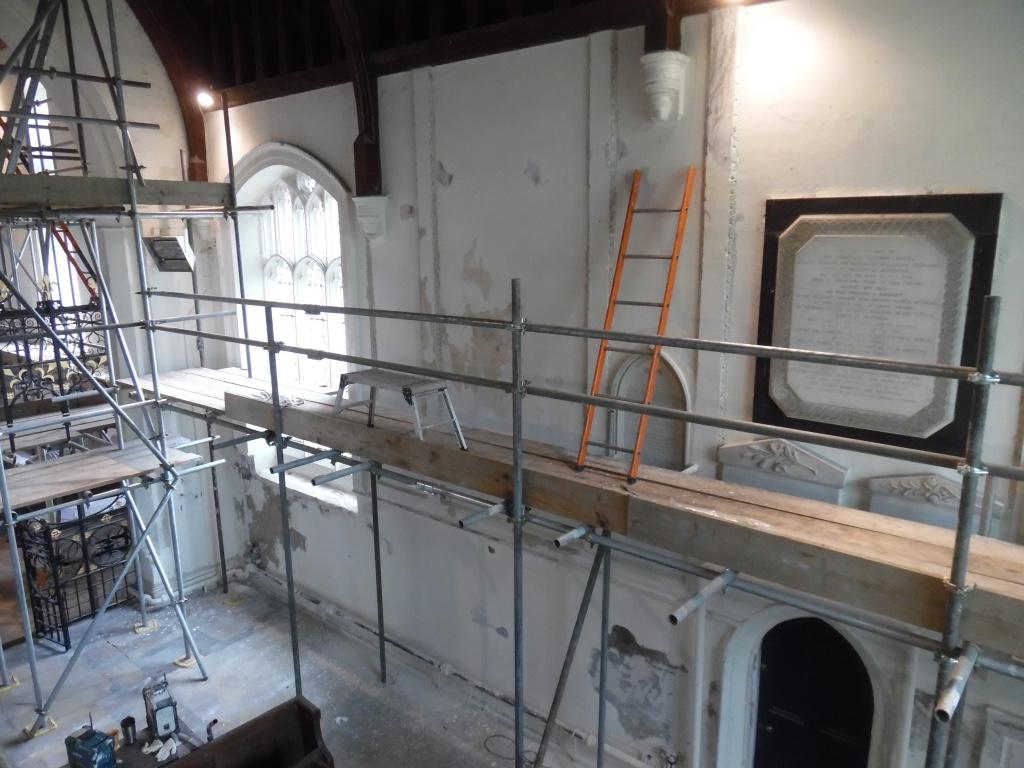 West Wratting Church, Cambridge, Chancel Repair